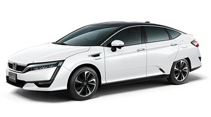 HONDA《クラリティ FUEL CELL》燃料電池車を目撃!!